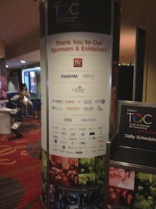List of sponsors and exhibitors