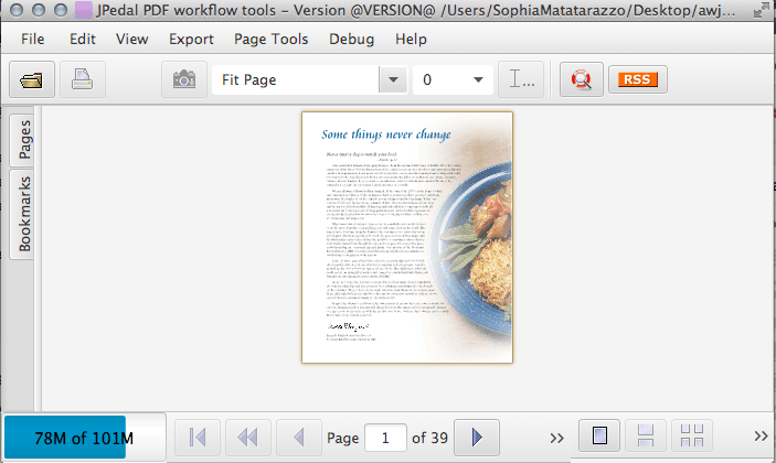 Below is a image of our JavaFX PDF Viewer using some of the above ...