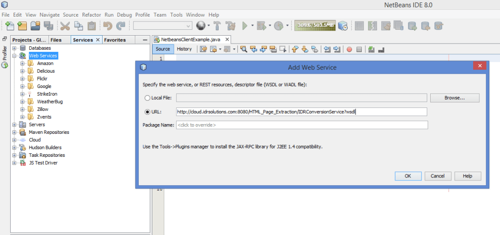 Add web reference netbeans download