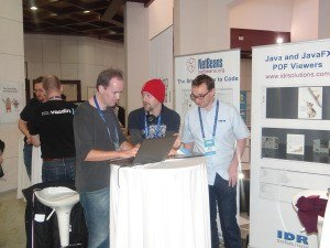 NetBeans stand at DevFest