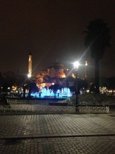 Istanbul is beautiful at night