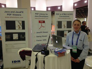 Sylwia runs the stand
