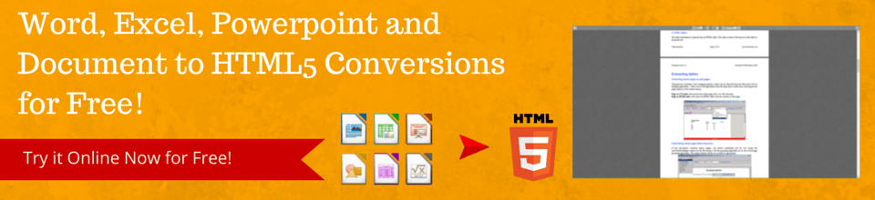 Office to HTML5 Conversions