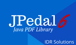 New APIs to handle PDF files in JPedal 6 - Text