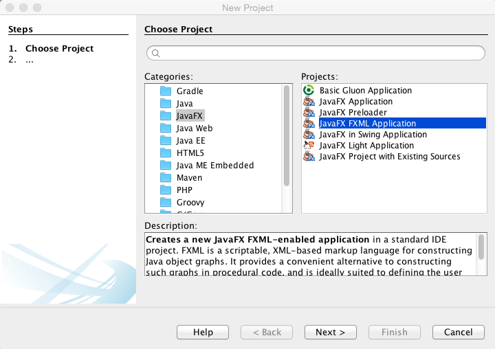 How to Create a JavaFX GUI using Scene Builder in NetBeans