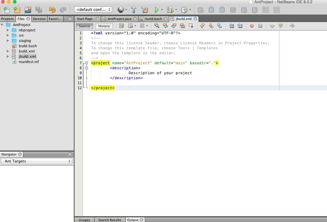 How to build java projects with apache ant screen shot 2015 07 15 at 102303 baditri Images