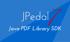 JPedal Java PDF Library SDK