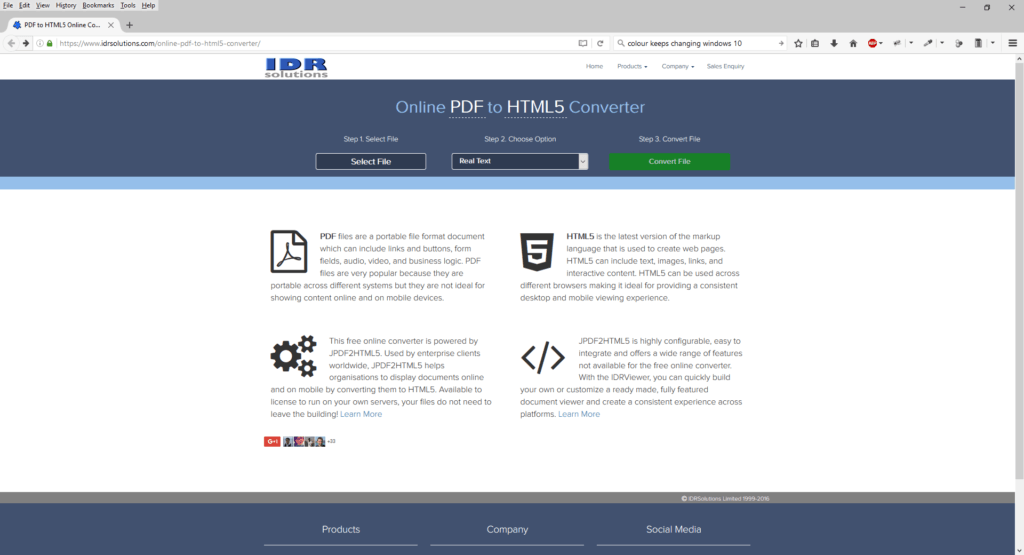 3 Enhancements For Our Free Online Pdf To Html5 And Svg Converter