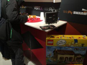 Red Hat Lego booth