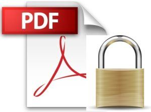 PDF security
