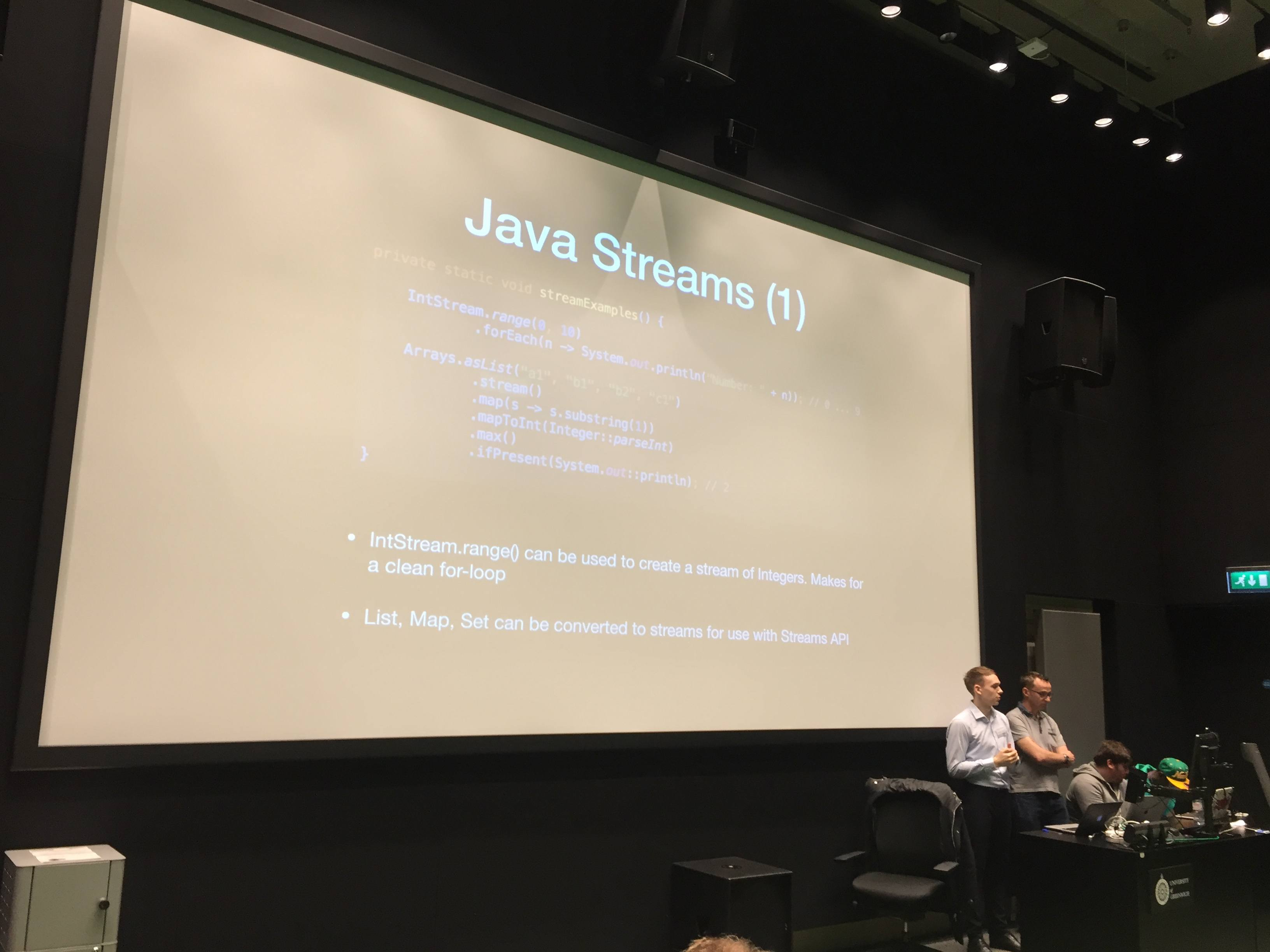 Java 8 Streams slide