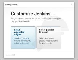 Plugin choice page