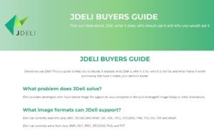 JDeli Buyers Guide